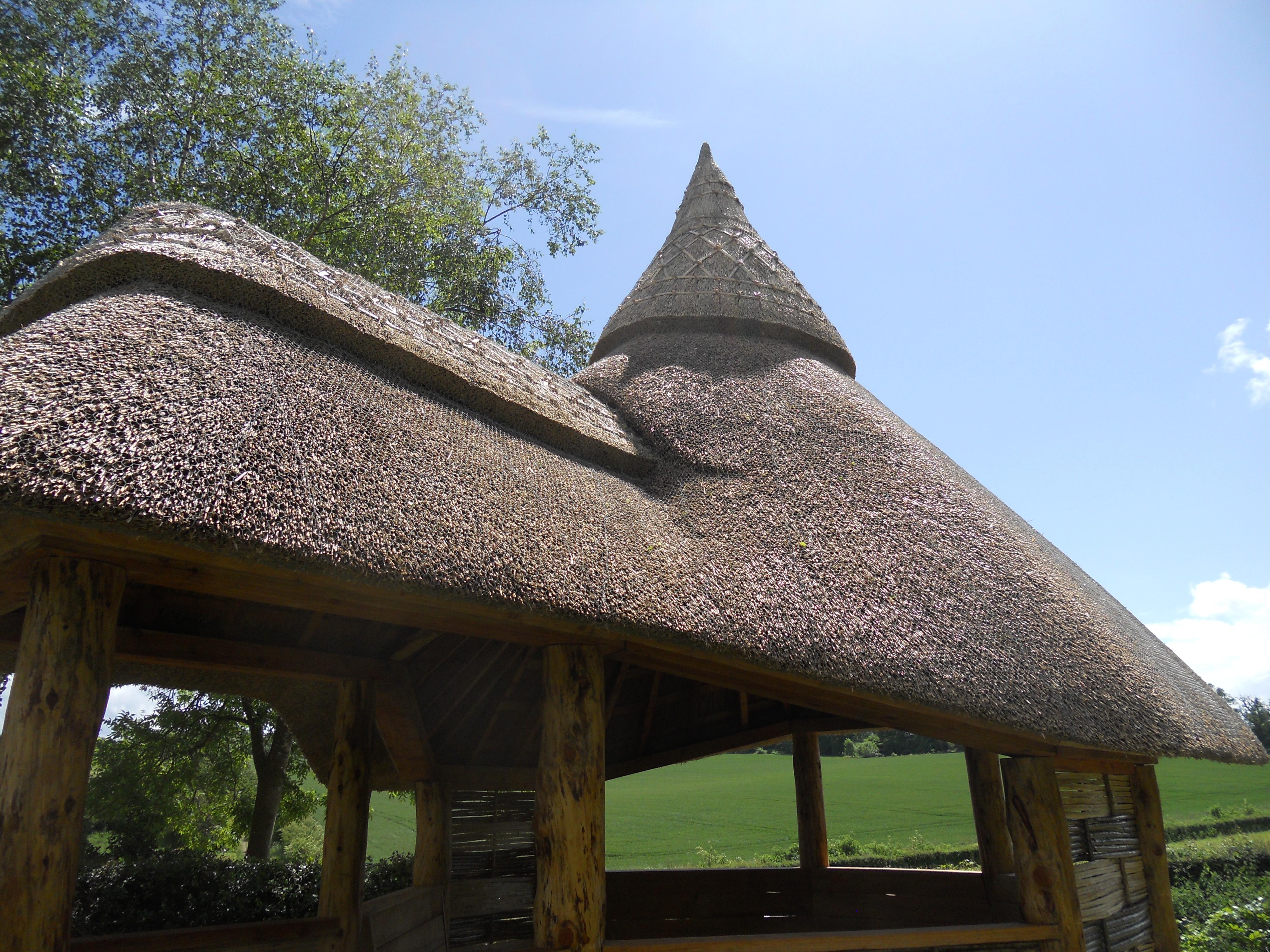 timber framed garden pavilion