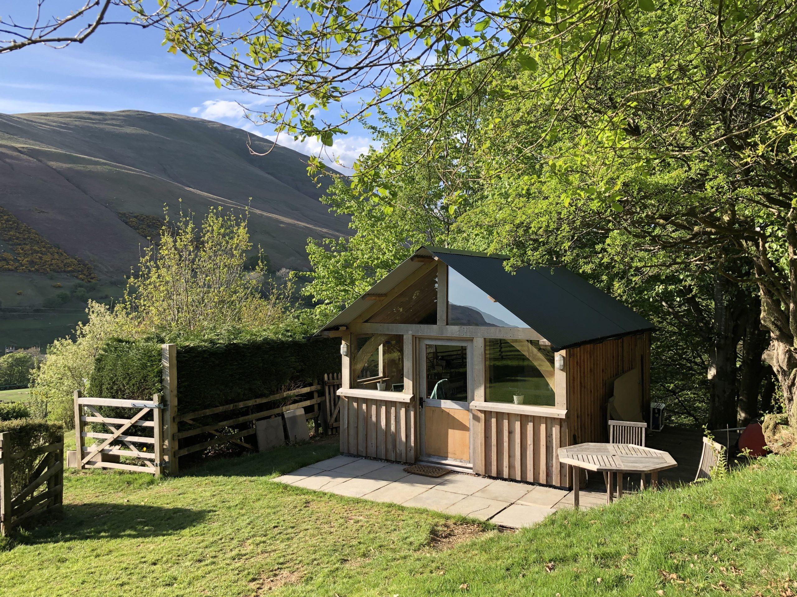 Oak Framed Summerhouse, Cumbria