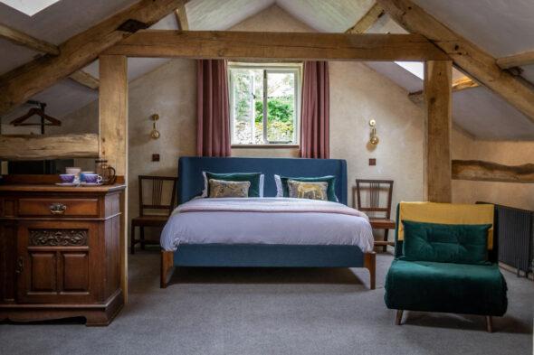 Oak Trusses, Barn Conversion, Cumbria