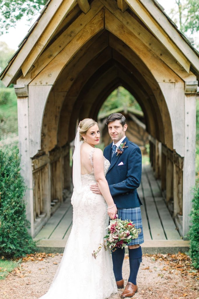 oak bridge wedding